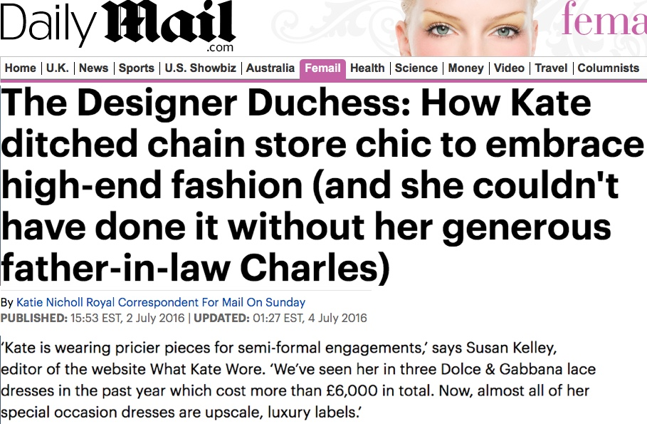 The Daily Mail / Mail on Sunday