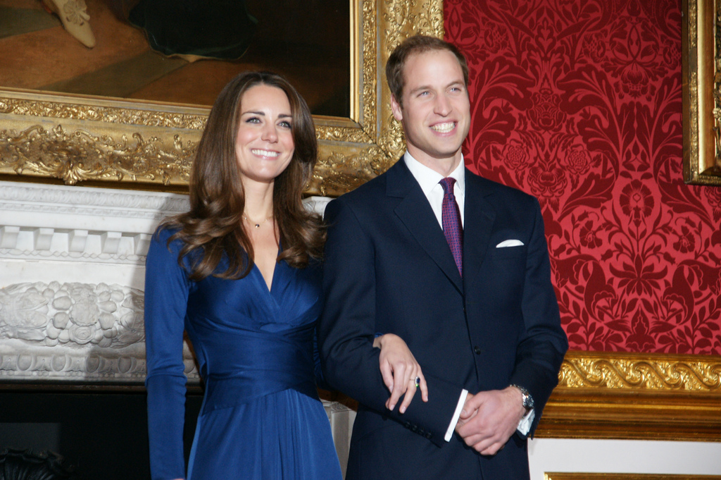 That Blue Issa Dress - What Kate Wore