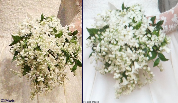 Kate Middleton Royal Wedding Bouquet Closeups April 29 2011