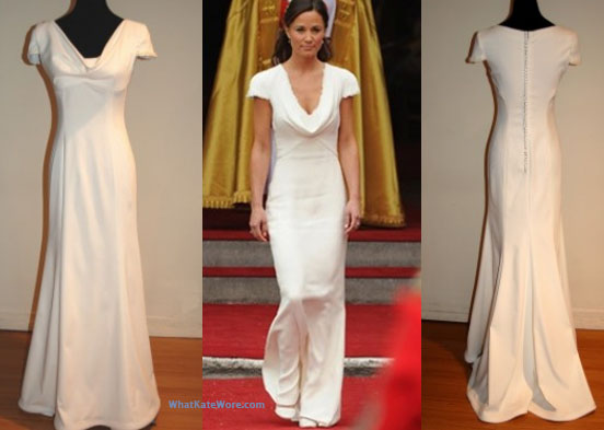 Sarah burton kate middleton wedding gown archives what for Wedding dress like pippa middleton