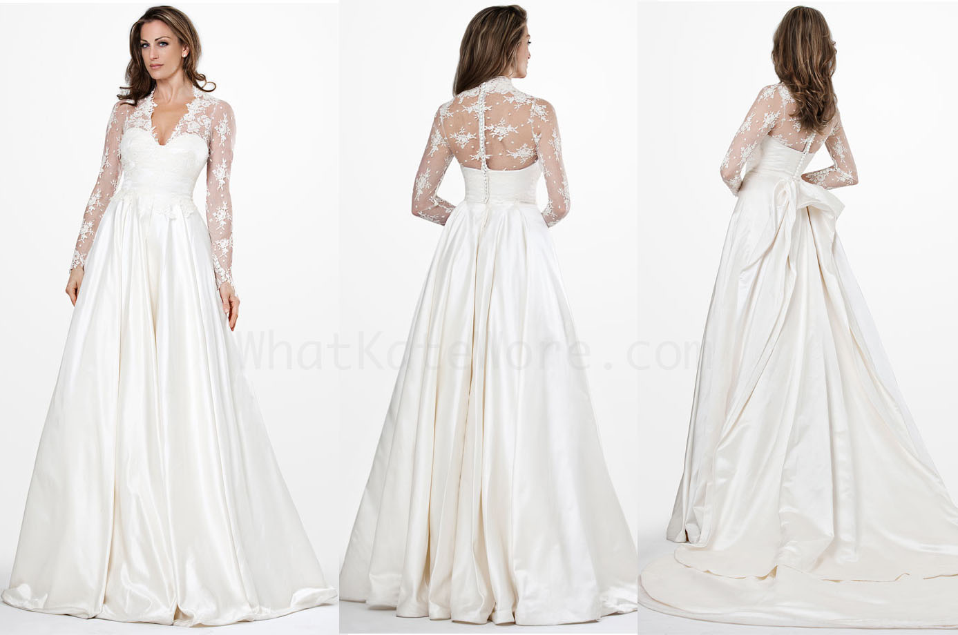 Sarah Burton Kate Middleton wedding gown Archives - What Kate Wore