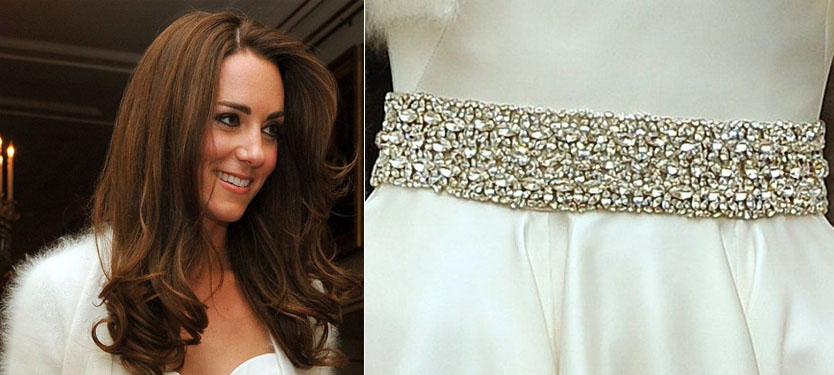Kate Middleton's Second Wedding Dress