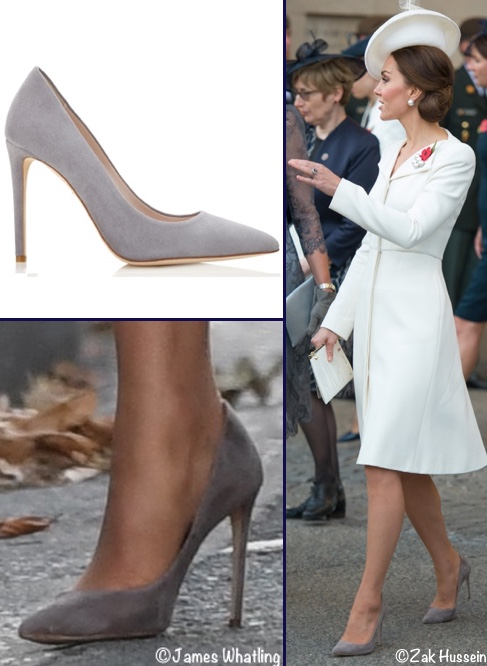 d2293f85d21 ... the company specializes in bespoke bridal shoes but also offers less  formal styles. Below you see the Duchess wearing the brand s Rebecca style  in the ...