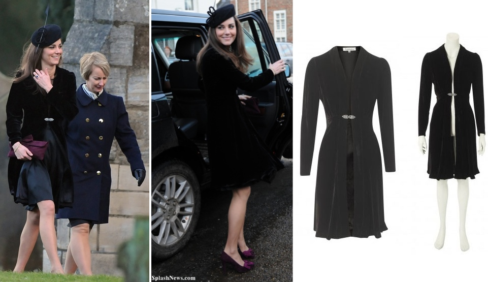 67a2b98c5bd3 1.7.2011 The Libelula  Dulwich  Velvet Coat - What Kate Wore