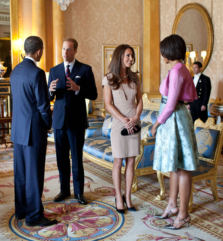 2158892feaa ... Reiss Shola worn by Kate earlier this week. White House Flickr Feed