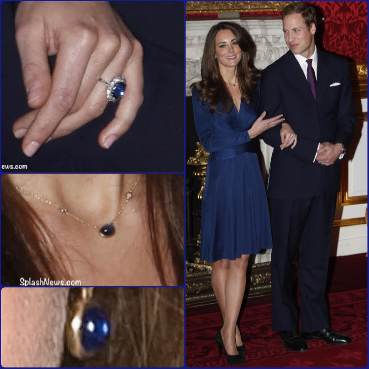 Kate William Montage Engagement Announcement