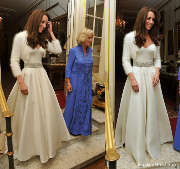 Kate middleton 39 s second wedding dress what kate wore for Princess catherine wedding dress