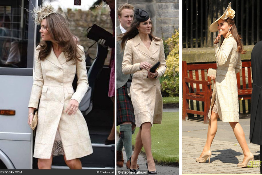 White Or Ivory At Wedding As A Guest Kate Middleton