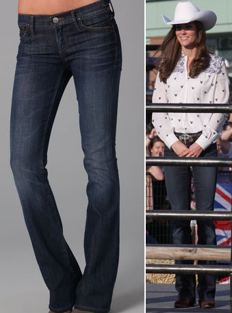 It S Jenny Packham Again For Kate Amp How About Those Cowboy