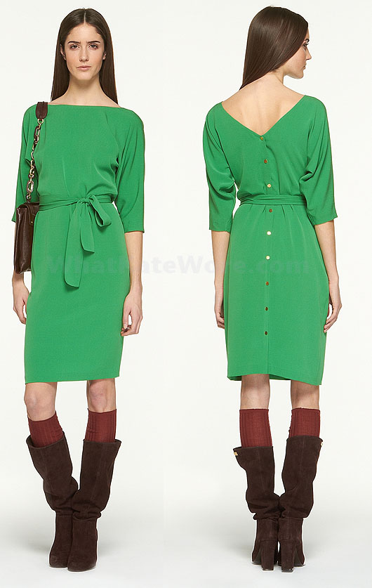 Duchess Cambridge green Diane von Furstenberg dress Archives - What ...