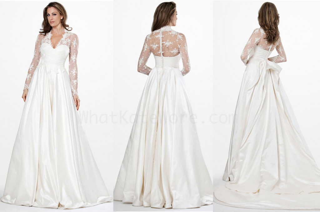 JS Collections Duchess Wedding Gown