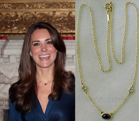 Her Royal Highness Kate S Mystery Necklace Earrings And