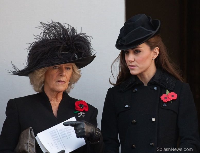 Kate Solemn In Diane Von Furstenberg For Remembrance