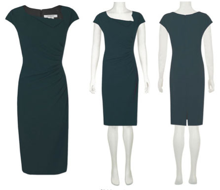 LK Benett 'Davina' Dress in teal