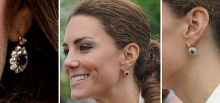 Kate Middleton Favorite Earrings Archives What Kate Wore