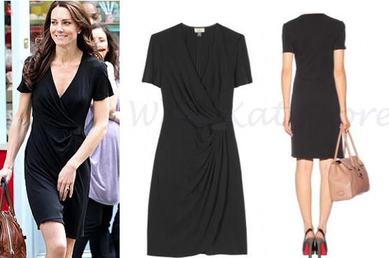8d95990d6fbd4 Kate MIddleton black Issa dress Archives - What Kate Wore