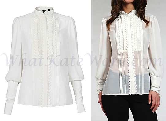 87af220cc5011b Kate Middleton white Ted Baker shirt Archives - What Kate Wore