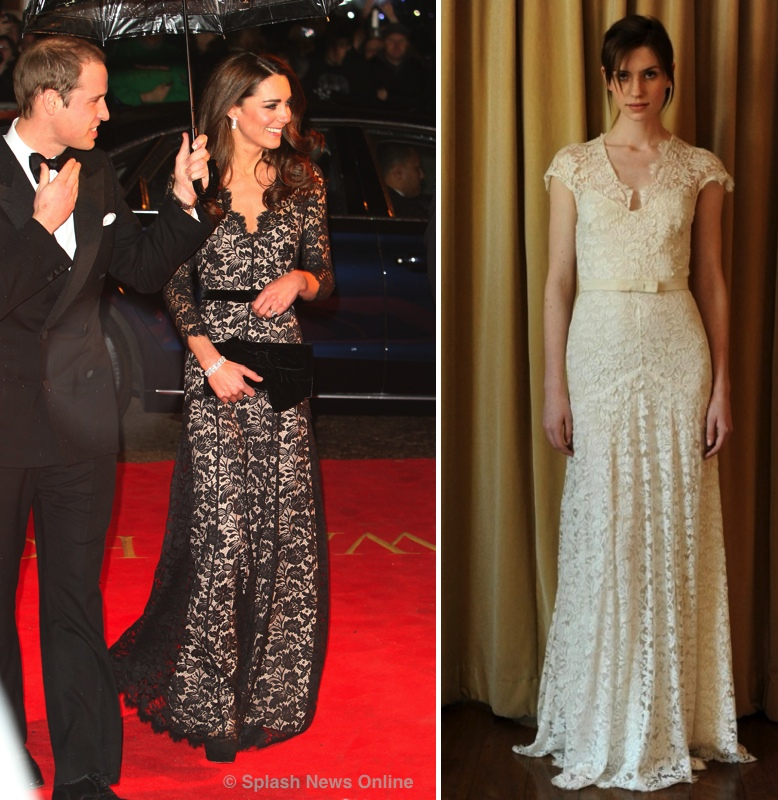 Kate 39s War Horse Dress is a Bridal Gown Upcoming Appointments