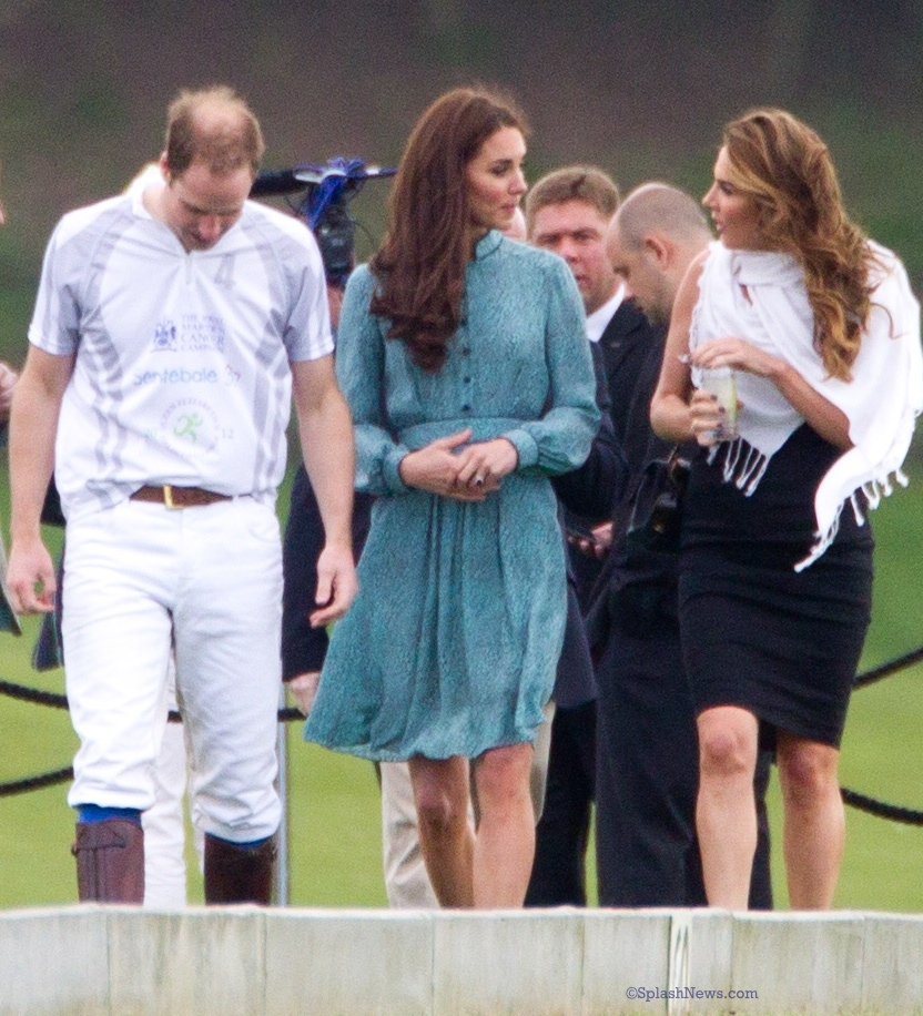 Kate Middleton Audi Polo May 13 2012 Libelula Rebecca Dress