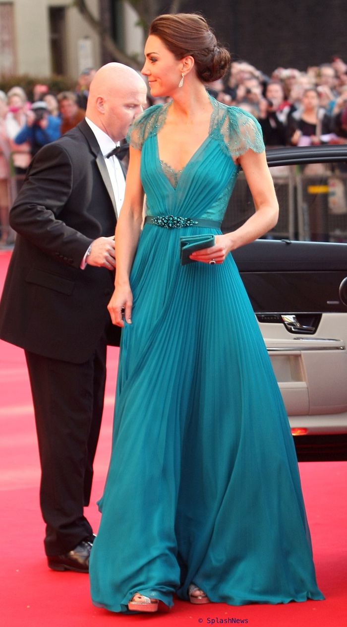 Kate Is Regal In Another Bespoke Bridal Gown for Olympic Gala, A ...