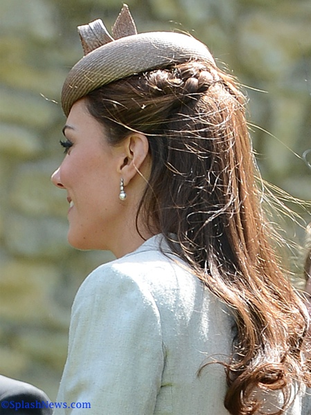 The Duke And Duchess Of Cambridge Attend A Wedding