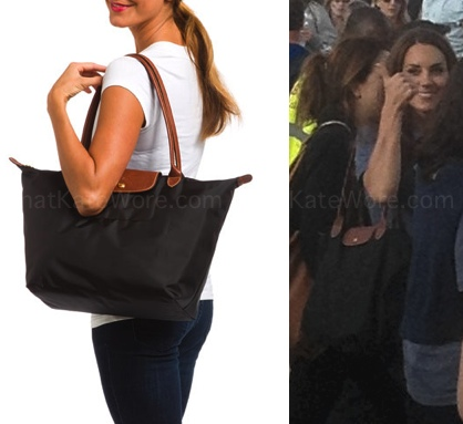 dc2e7e14aaf3 Kate Middleton Longchamps Le Pliage Archives - What Kate Wore