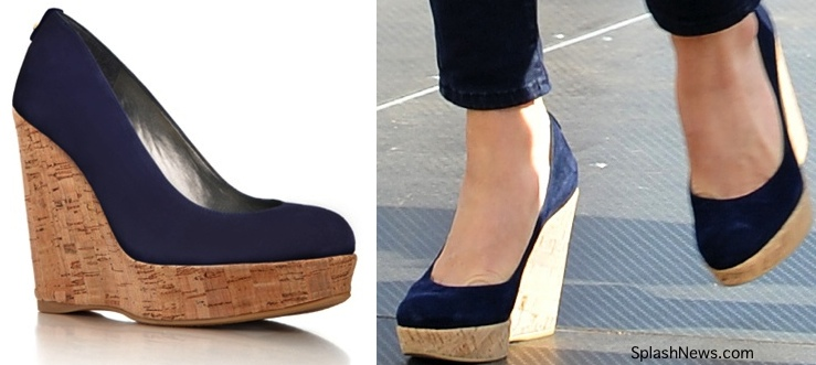 e484d14c966 Kate Stuart Weitzman navy wedges Archives - What Kate Wore