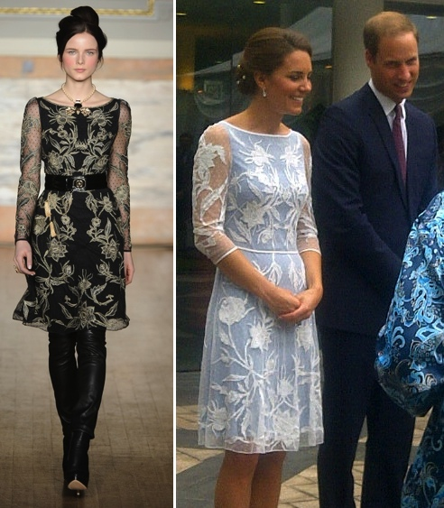 d798d9f3417f Kate in Icy Blue Temperley for Tea