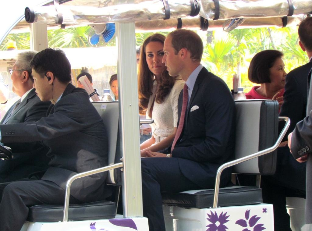 Kate William Singapore Gardens by Bay on Golf Cart Channel News Asia