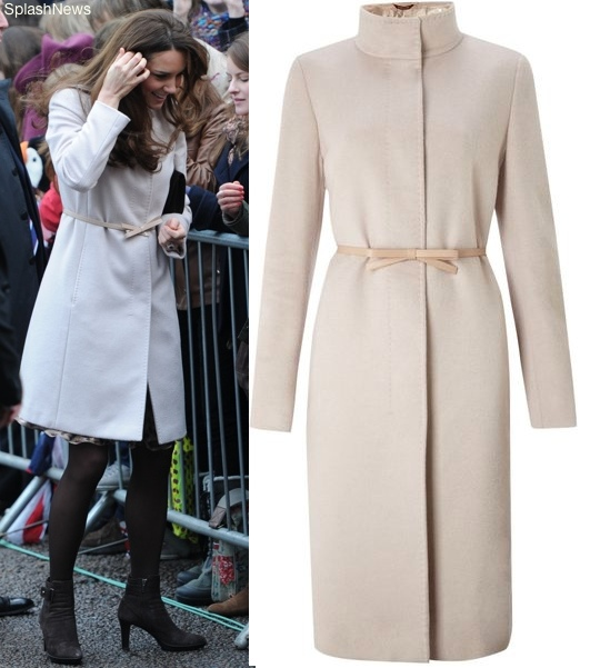 Kate Wears Maxmara For Historic Cambridge Visit What