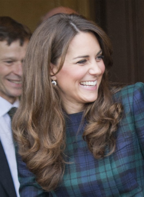 6520baa7077 Kate McQueen plaid coat Archives - What Kate Wore