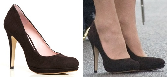 Who Makes Kate Middleton S Brown Suede Shoes