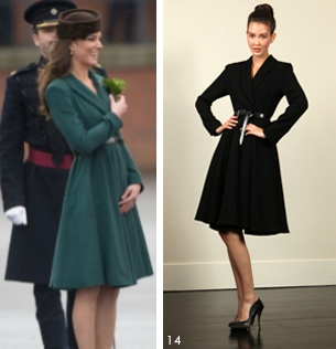 Kate Reiss green coat Archives - What Kate Wore