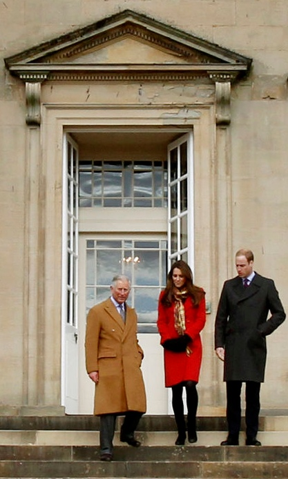 Kate Repeats Red Armani In Scotland Is Taken Aback By