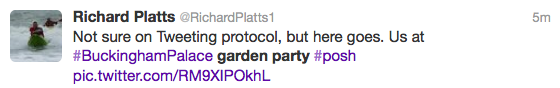 Richard Platts Twitter Feed