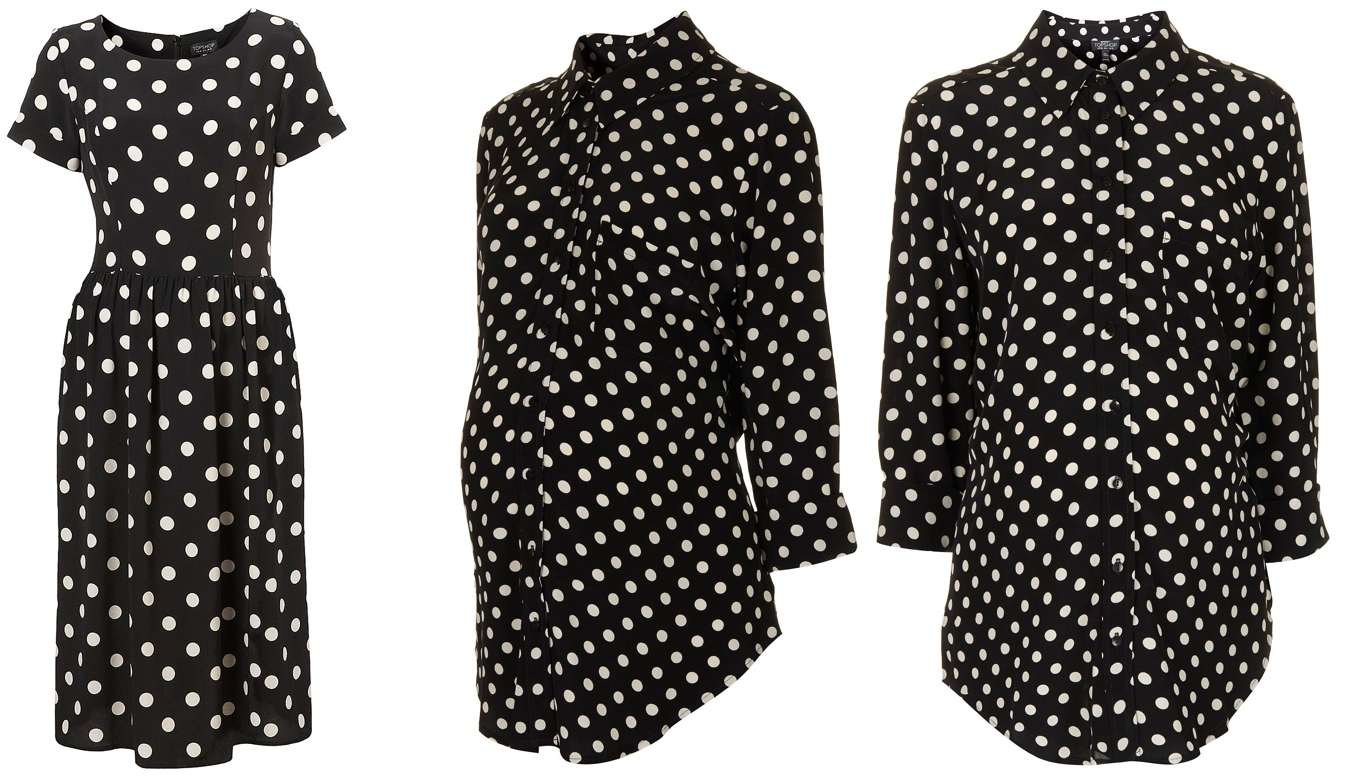 Kate topshop polka dot dress archives what kate wore topshop us site ombrellifo Gallery