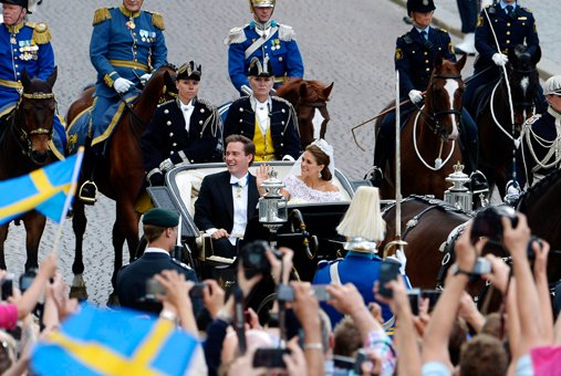 Bertil Enevåg Ericson/Scanpix via Swedish Royal Court