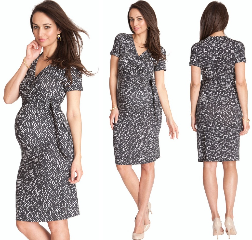 Seraphine Mock Wrap Dress