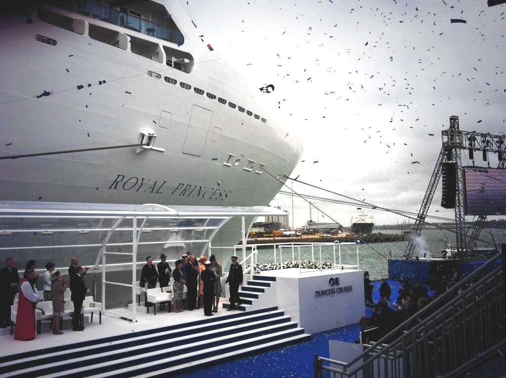 Paul Ludlow, UK Director Princess Cruises Twitter