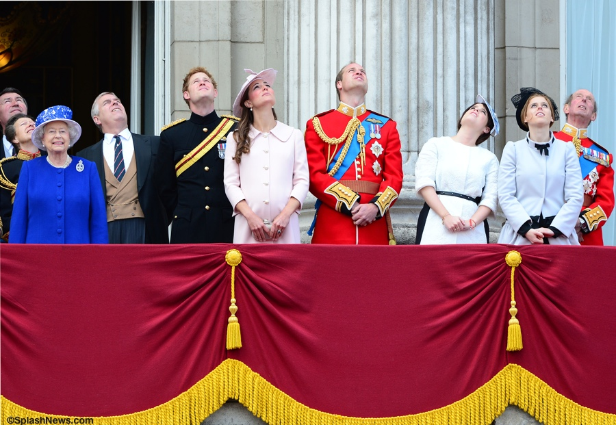 It's Alexander McQueen for Trooping the Colour - What Kate Wore