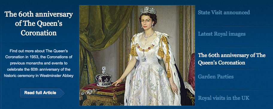 Official Diamond Jubilee Website
