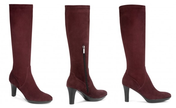 Aquatalia Rhumba in Wine Suede