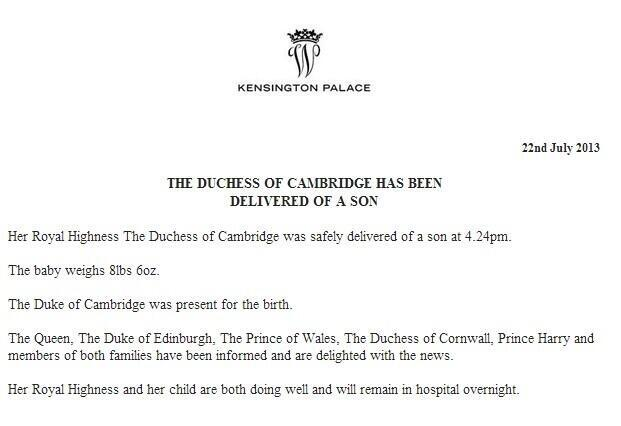 Clarence House via Royal Review
