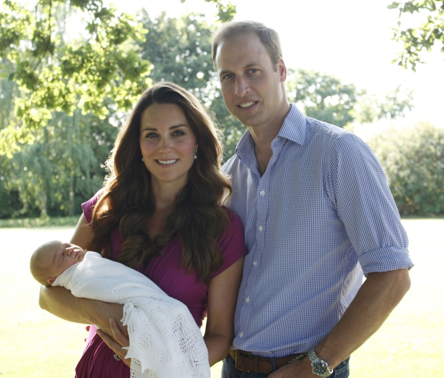 ©Duke & Duchess of Cambridge via PA Wire