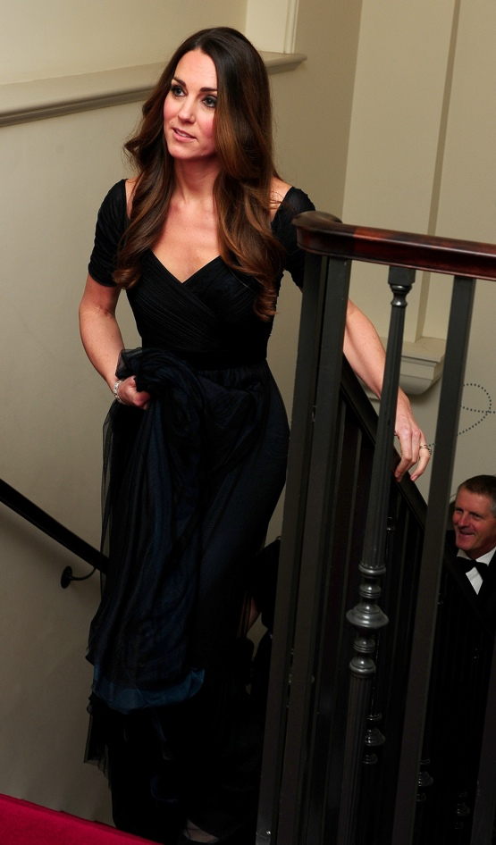 Kate Wears Jenny Packham For 100 Women In Hedge Funds Gala What