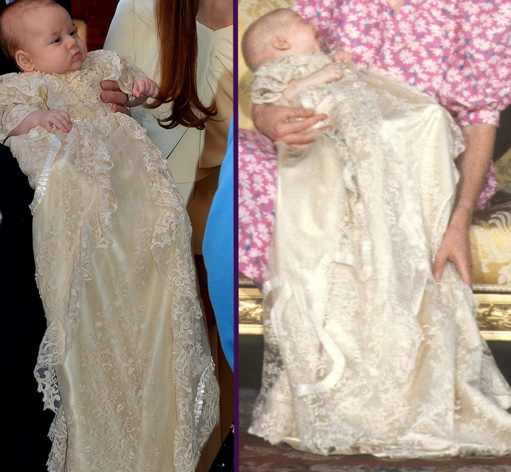 Prince George Christening Side by Side William Christening Splash L PA Right