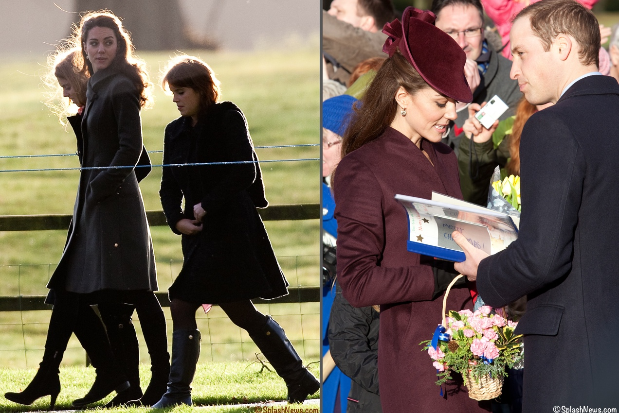 Kate Repeats Two Coats for Christmas Day, Royal Tour Plans ...