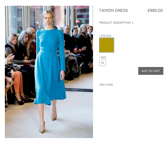 Emilia Wickstead 'Tamziin' Dress