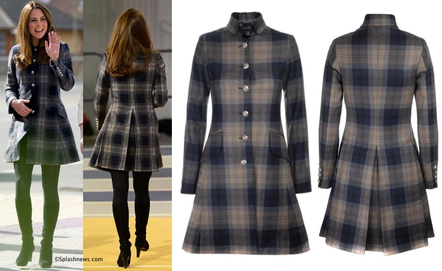 247d3cc30e3d9 Pick Your Favorite Coat Worn by Kate in 2013 & More Favored Brands ...