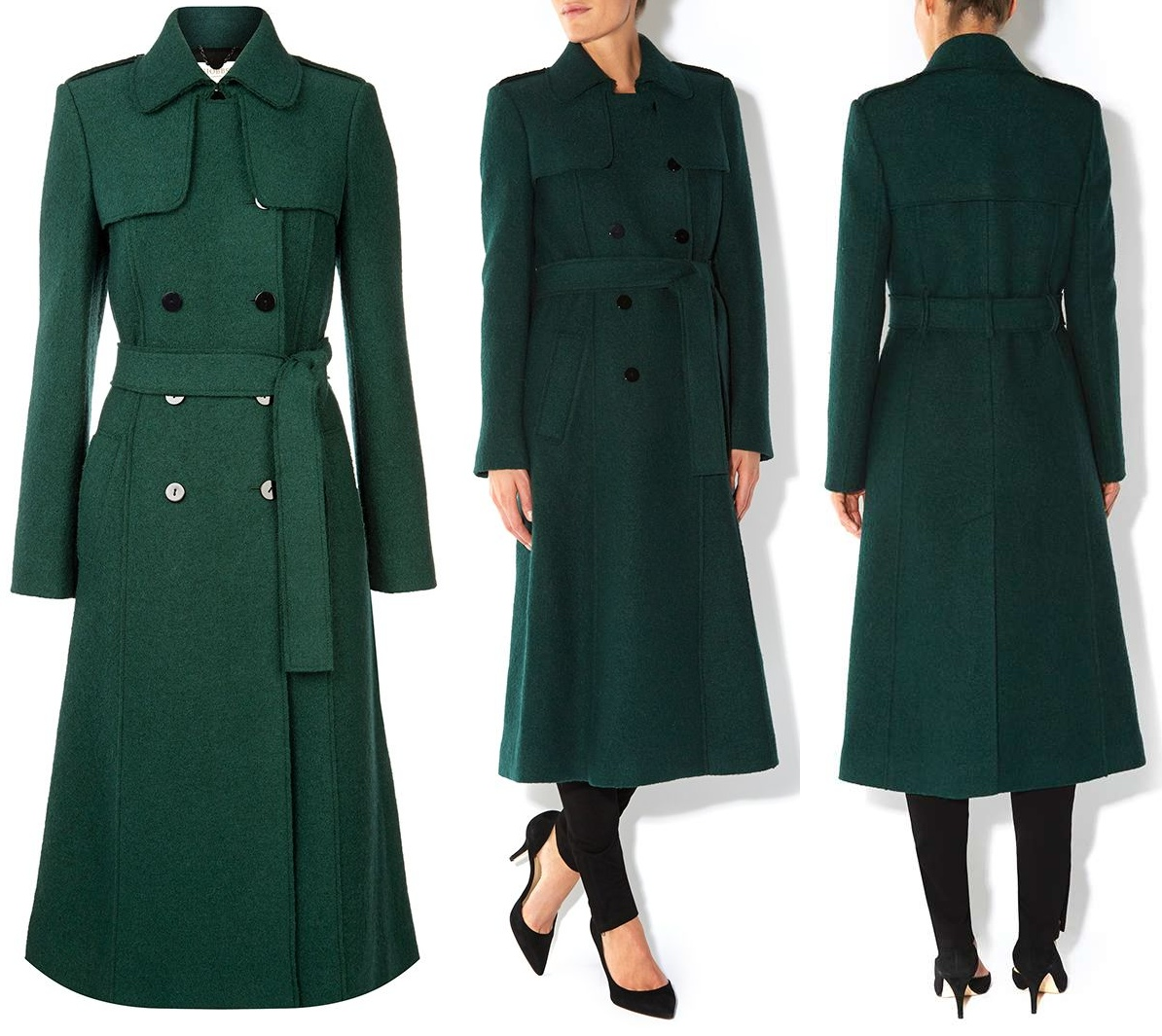 Kate Green Hobbs Persephone Coat St. Patrick's Day 2014